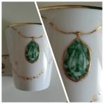 Mug décor bijoux