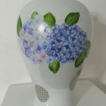 Grand vase Hortensia