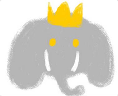 dessin d'enfant éléphant