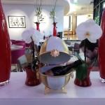 Exposition Hôtel Marriott Boulogne Paris Stand Fleur de Porcelaine Boulogne Peinture sur porcelaine